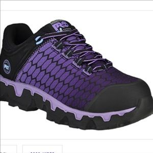 Timberland pro active steel toe shoes